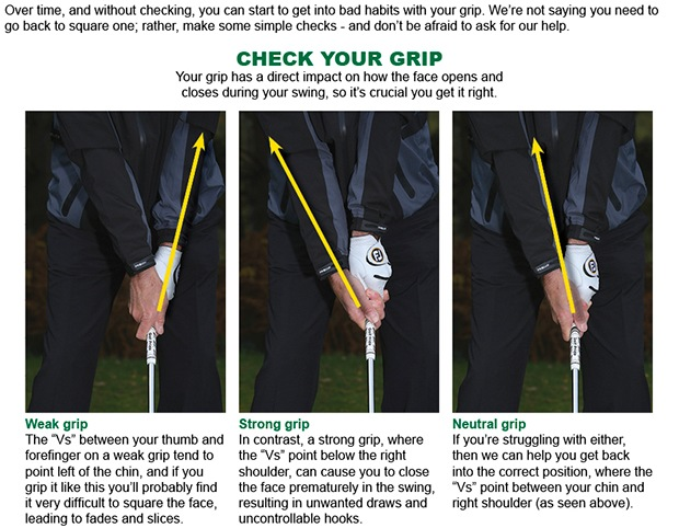 Grip advice