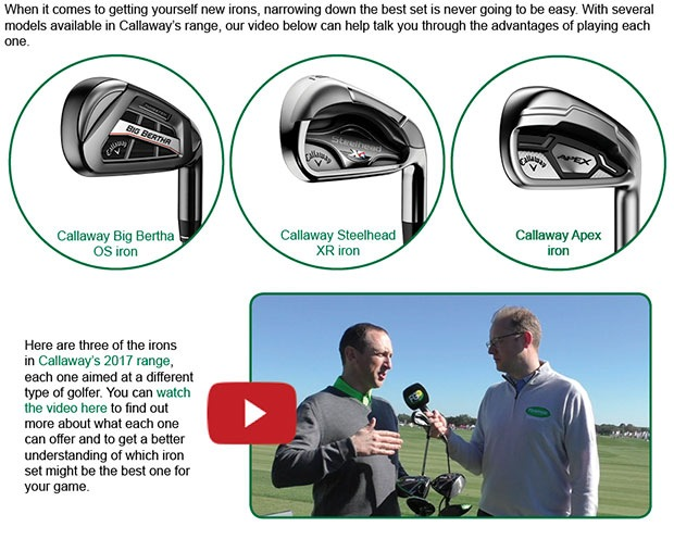 Callaway Iron Article
