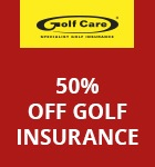 Golf Care 50% insurance offer