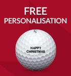 Titleist ball personalisation - from £17.99