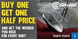 Cleveland wedge offer - buy 1 get 1 half price