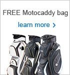 Motocaddy free bag offer