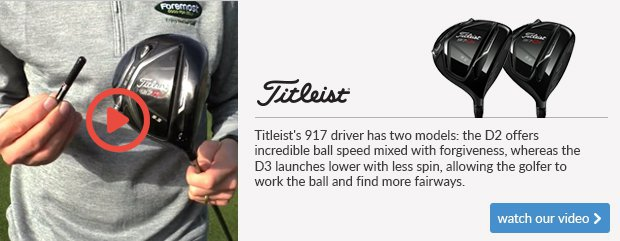 Titleist 917 Woods