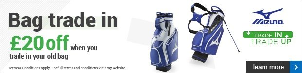 Mizuno Bag Trade In - get £20 for your old bag