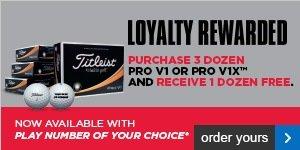 Titleist Loyalty Rewarded - save £42.99