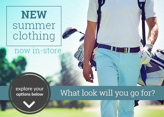 Spring Summer clothing May 2017