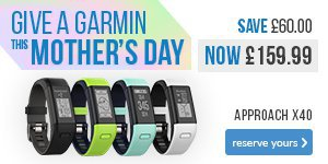 Give a Garmin X40 this Mother's Day