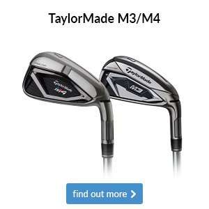 TaylorMade M3/4 Irons